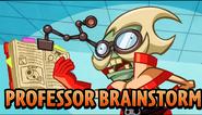 Professor Brainstorm Animated Trailer
