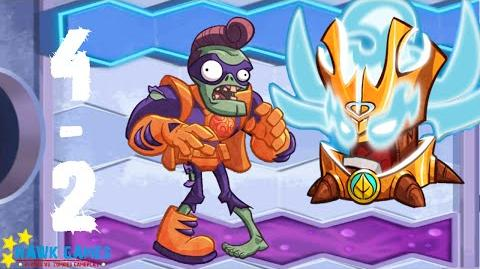Plants vs. Zombies Heroes - Zombie mission 4-2 Code Orange! Citron Invades!