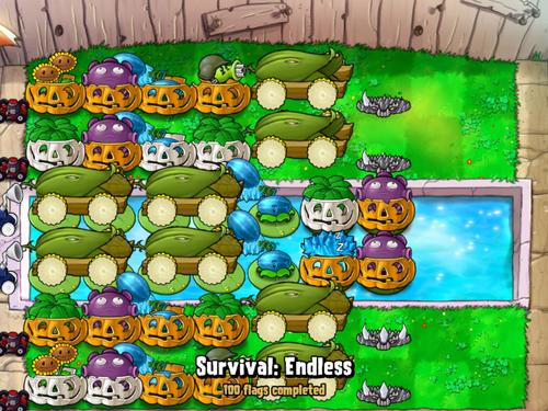 BUL9 Survival Pool Endless strategy