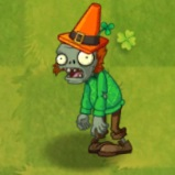Cone Head Irish Zombie