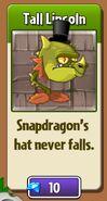 Snapdragon's Top Hat
