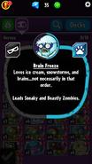 Brain Freeze Description