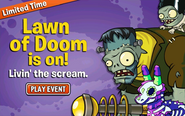 Lawn of doom ad