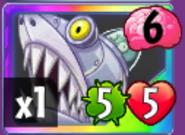 Zombot Sharktronic Sub Card