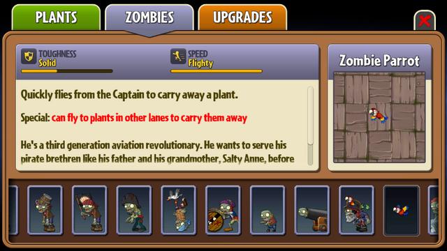 File:Zombie Parrot Almanac Entry.png