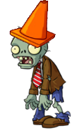 HD Conehead Zombie
