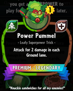 Power Pummel statistics crop