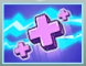 Heal beam of science icon