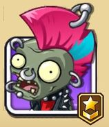 Punk Zombie's Level 4 icon