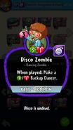Disco Zombie Description