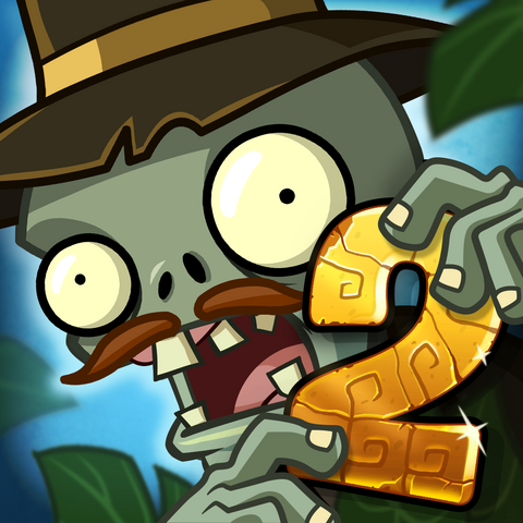 File:Plants vs. Zombies™ 2 It's About Time Square Icon (Versions 3.7.1).png