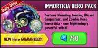 Immorticia Hero Pack