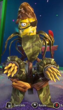 commando corn plants  zombies wiki fandom powered