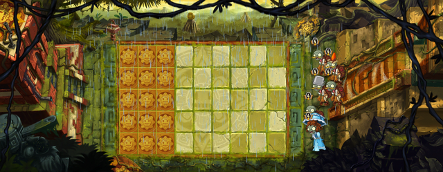 File:Lost City - Day 8 - PvZ Lv 4-10 Gimmick - Layout (Chinese).png