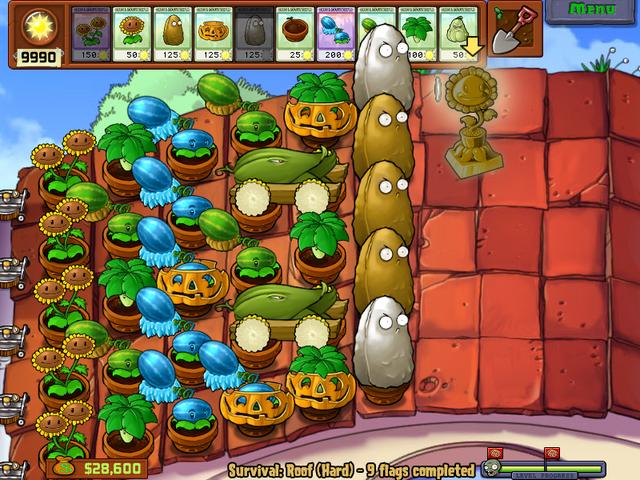 File:Plantz vs zombies survival rooftop hard.png