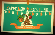 Sapfling costume ad