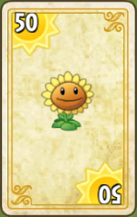 File:PvZ2 Sunflower Endless Zone Card.png