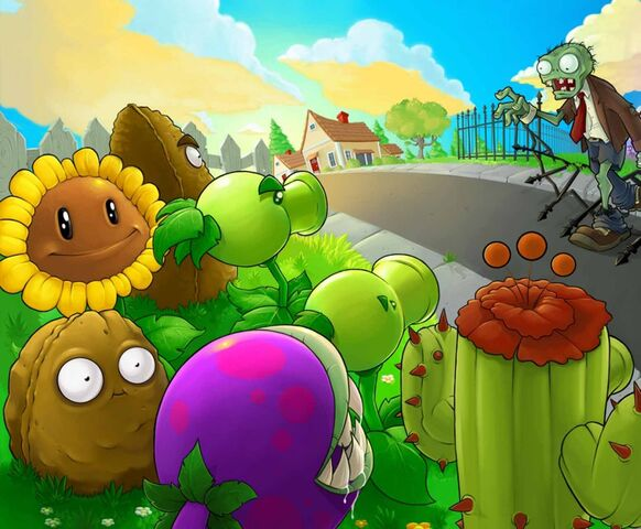 File:Plants vs zombies background.jpg