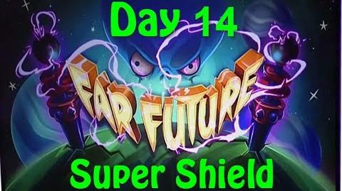 Far Future Day 14 - Super Shield - Plants vs Zombies 2