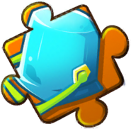 Blue Bucket Puzzle Piece Level 4