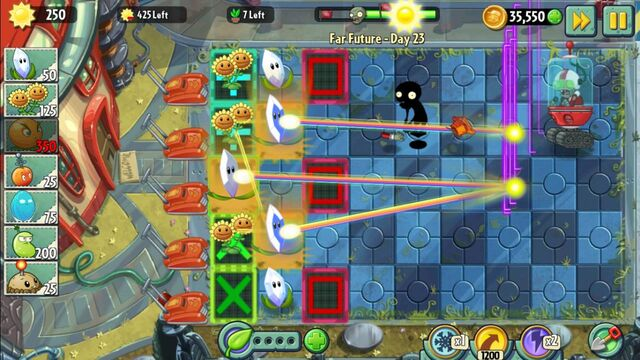 File:PvZ2 Magnifying Grass Beams of Light.jpg