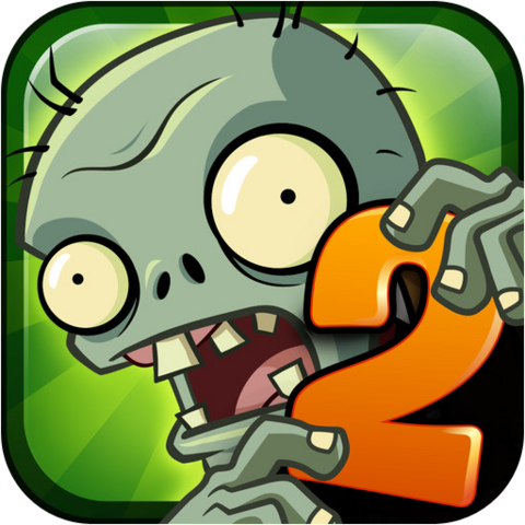 File:Plants Vs. Zombies™ 2 It's About Time Icon (Versions 1.0 to 1.4).png
