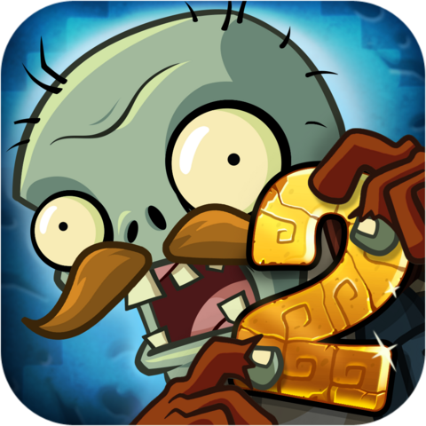File:Plants vs. Zombies™ 2 It's About Time Icon (Versions 3.6.1).png