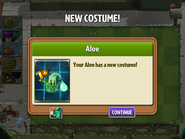 Getting Aloe First Costume