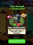 Receiving Imp Commander