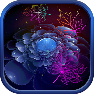 File:Neon leaf fall live wallpaper.png