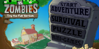 Plants vs. Zombies Web Version