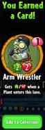 Earning Arm Wrestler