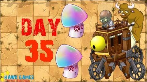 Plants vs Zombies 2 - Wild West - Day 35 BOSS