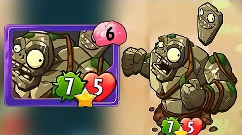 Plants vs Zombies Heroes - Stone Gargantuar Gameplay