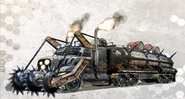 Rampaging Vehicle Concept Art