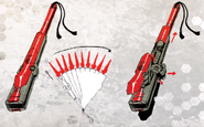 Rin Rin Weapon Concept Art