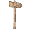 Single Sign Post icon