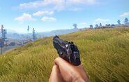M92 pistol view