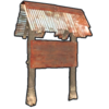 Two Sided Town Sign Post icon