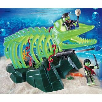 Playmobil Ghost Whale Skeleton