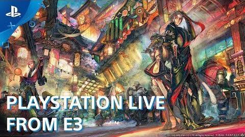 Final Fantasy XIV Stormblood - PS4 Preview E3 2017