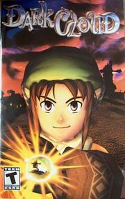 Dark Cloud PS2 Game cover