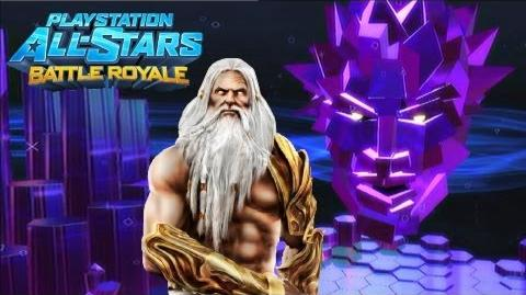 Playstation All Stars Battle Royale Zeus Arcade Walkthrough (Commentary) (PS3) (HQ)