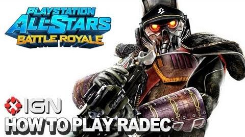 How to Use Colonel Radec in PlayStation All-Stars Battle Royale