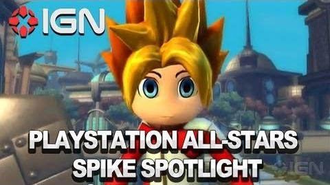 Ape Escape's Spike in PlayStation All-Stars