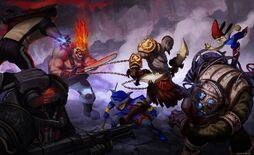 PlayStation All Stars Battle Royal image1
