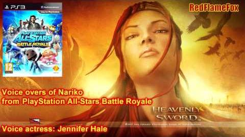 PlayStation All-Stars Battle Royale Nariko Voice Over-0