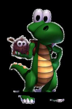 Croc Potrait finished