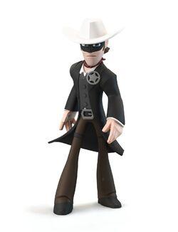 Lone Ranger render