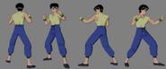 Yusuke reference sheet 1 yyhf by game art edited art-d3bjykc